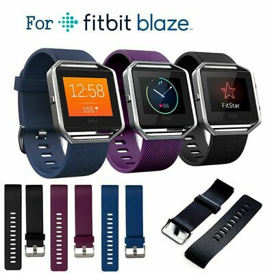 $ CDN4.73 • Buy Classic Replacement Wristband Band Strap For Fitbit Blaze Small / Large 3 Colors