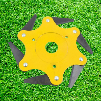 AU15.98 • Buy 6 Steel Blades Razors 65Mn Lawn Mower Trimmer Head Grass Weed Eater Brush Cutter
