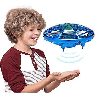 AU39.17 • Buy GEYUEYA Home Flying Toys Drones For Kids Adults Helicopter With 360° Rotating