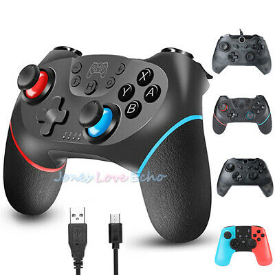 $26.59 • Buy For Nintendo Switch Wireless Pro Controller Gamepad Joystick Remote Rechargeable