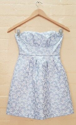 AU20 • Buy FOREVER NEW Designer Womens Strapless Short Party Cocktail Dress Size 6