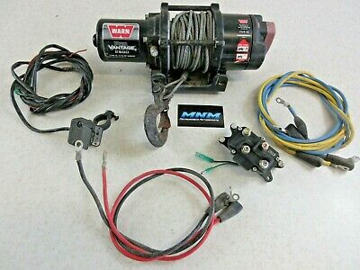 $269 • Buy GENUINE Warn PRO Winch COMPLETE Kit Actuator Switch 2500 Wire Cable ATV UTV