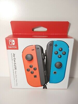 $52.99 • Buy Nintendo Switch Joy-Con Controller - Neon Red/Neon Blue (HACAJAEAA)