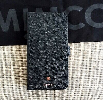 AU56.99 • Buy MIMCO Sublime Flip Case IPhone 11 Pro Max Black Rose Gold Leather, New With Tags