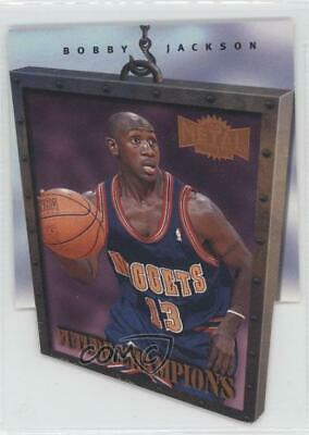 £1 • Buy 1997 Metal Universe Championship Preview Future Champions Bobby Jackson Rookie