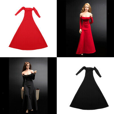 $50.11 • Buy Set Of 2 1:6 Action Figure Evening Gown For 12  Enterbay Soldier Body Accs