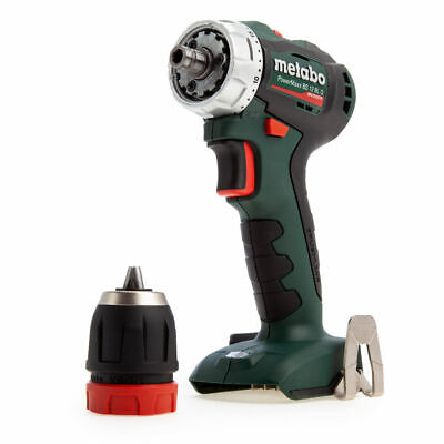 Metabo 601039890 PowerMaxx 12V BS12BLQ Brushless Drill Driver (Body Only) • 99£