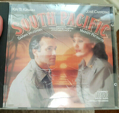 Soundtrack Kanawa Carreras South Pacific CD With Fast And Free UK Shipping • 2.30£