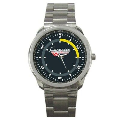 $16 • Buy 1963 Chevrolet Corvette Grand Logo Sport Metal Watch