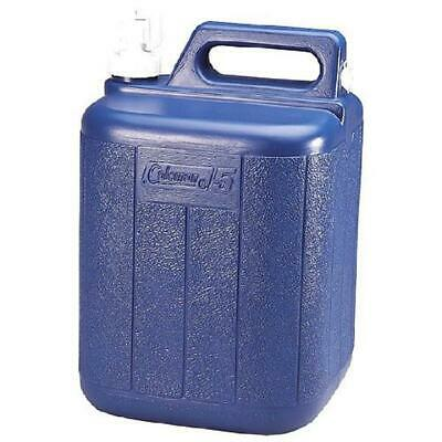 $30.99 • Buy 5 Gallon Coleman Water Jug Container Tote Home Camping Emergency Outdoor Blue