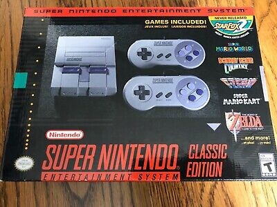 $ CDN246.79 • Buy Super Nintendo Entertainment System SNES Classic Edition BRAND NEW