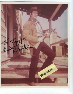 $22 • Buy Clint Walker Original Autographed In Person Photo Houston, Texas 1998 Stargazer