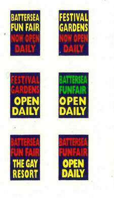Modelmaster 1:76th Professional Silk Screen Watersllde Decals BUS ADVERTS  1   • 4.50£