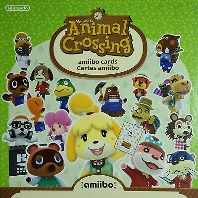 AU12 • Buy Animal Crossing Amiibo Series 1 Cards 1-100 - Choose  New Horizons