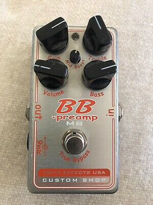 Distortion Pedal   XOTIC BB PRE AMP • 110£