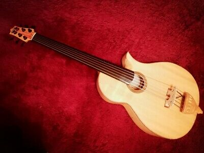 AU7817.96 • Buy MF Fretless Acoustic Bass Built In 2009 In Canada By MF Lutherie (Alain Caron)