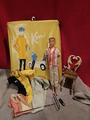 $ CDN41.34 • Buy Vintage 1960s Mattel Barbie Ken Doll, Clothing, Accessories And Case Lot