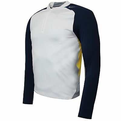 Nike Mens Track Top Compression Gym Base Layer Running T-Shirt 193333 100 • 10.99£