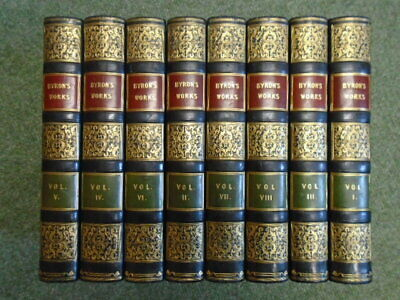 The Poetical Works Of Lord Byron In Eight Volumes [8 Volumes] • 507£