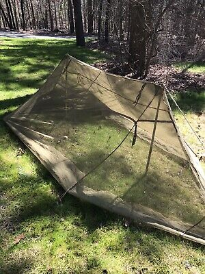 """$125 • Buy WW2 Rare! USMC Army """"1944"""" JUNGLE Mosquito Tent """"Insect Field Bar"""" NOS Unissued!"""