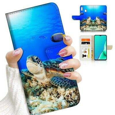 AU12.99 • Buy ( For Huawei Y7 2019 / Y7 Pro 2019 ) Case Cover AJ23202 Turtle In Sea