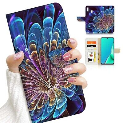 AU12.99 • Buy ( For Huawei Y7 2019 / Y7 Pro 2019 ) Case Cover AJ23090 Abstract Flower