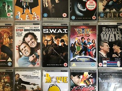 £4.99 • Buy Sony PSP Movies - UMD Video - All Boxed / Tested - Lots Of Movies To Choose From