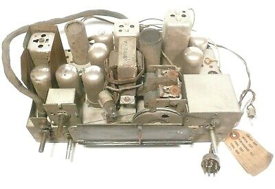 $ CDN103.67 • Buy Vintage SILVERTONE RADIO /RECORD /WIRE  8102:  Untested CHASSIS  101.814-2B