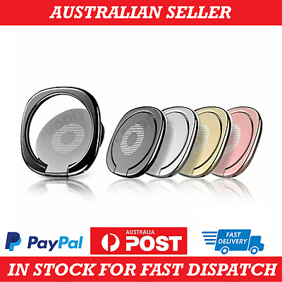 AU4.95 • Buy AU Pop Up Socket Phone Holder Stand Hand Grip Ring Mount Bracket IPhone Samsung
