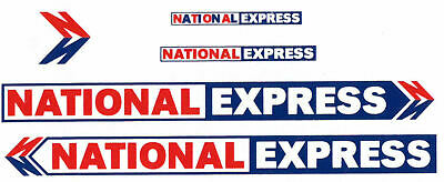 Modelmaster 1:76TH Scale Silk Screen Watersllde Decals 5891 NATIONAL EXPRESS • 3.99£