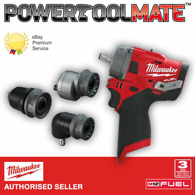 £119.99 • Buy Milwaukee M12FPDXKIT-0 'FUEL GEN II' Percussion Drill With Removable Chuck