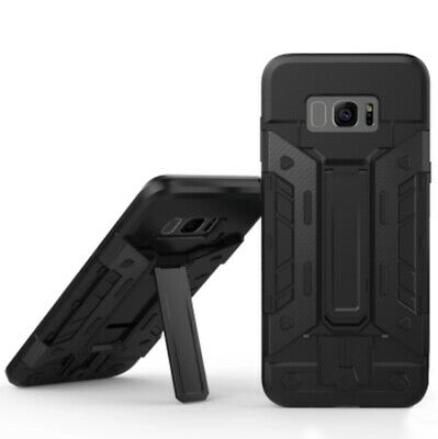 AU9.95 • Buy Armour Bear Samsung Galaxy S8 Shockproof Case With Card Holder And Stand