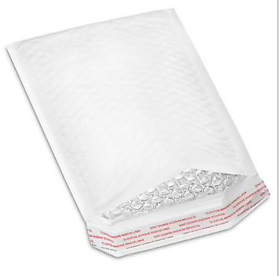 $ CDN6.70 • Buy Lot Of 5 Bubble-Lined Polyolefin Mailers #0 - 6 X 10