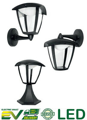 LED Garden Outdoor Lantern / Pedestal / Hanging Security Wall Mounted Light • 14.50£