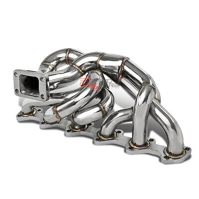 $158.99 • Buy T304 Steel T3 Flange Exhaust Turbo Manifold For 86-91 Bmw E30 I6 M20 2.5l/2.7l