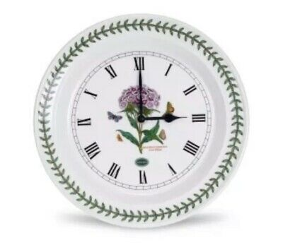 Portmeirion Botanic Garden - Wall Clock Sweet William • 35£