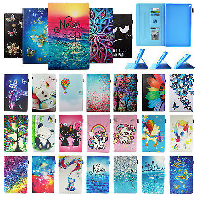 AU19.98 • Buy For Kindle Fire HD 10 2017 10.1  Slim Folio Leather Card Wallet Stand Smart Case