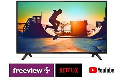 AU449.10 • Buy Philips 50  Ultra Slim UHD LED LCD Smart TV W/ WiFi, USB PVR, Netflix, Freeview
