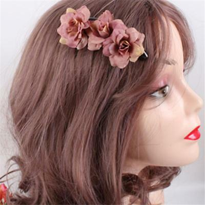 $ CDN1.84 • Buy Wedding Bridal Flower Rose Hair Clip Comb Bridal Accessories Hair Accessories JH