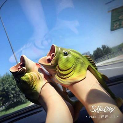 $ CDN10.53 • Buy 2020 Summer Fish Shower Animal Slippers Funny Beach Shoes Sandals Shoes JH