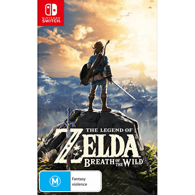 AU76.45 • Buy The Legend Of Zelda Breath Of The Wild For Nintendo Switch - (Free Post)