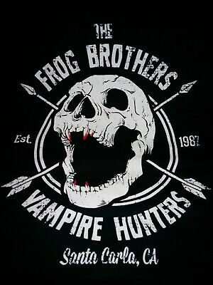 £1.29 • Buy Lost Boys Frog Brothers Vampire Hunters 80s Movie Iron On T-Shirt Transfer A5