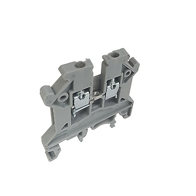 £3 • Buy Din Rail Terminal Connector 2.5mm - 25A - 750v 10 & 20 Pack