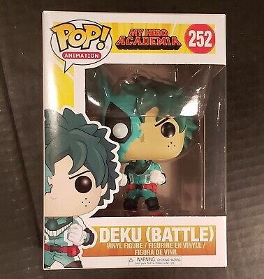 $22.44 • Buy Funko Pop DEKU BATTLE Animation #252! My Hero Academia! Vaulted! FREE PROTECTOR!