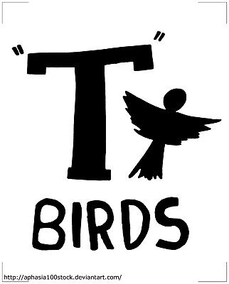 £1.29 • Buy Grease T-Birds Logo 70s Musical Movie Iron On T-Shirt Transfer A5