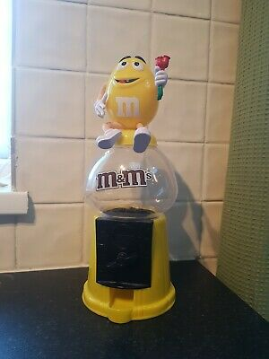 M And M Chocolate Dispenser In Yellow • 9.99£