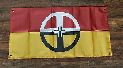 $11.02 • Buy Native American Indian Healing Flag Tribe Tribal Heal Health Ships From USA New