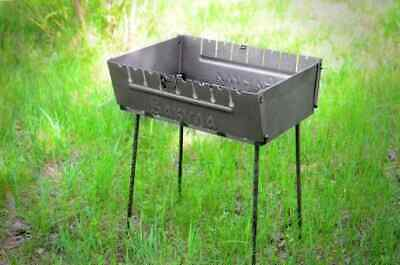 $ CDN151.68 • Buy Portable Grill Barbeque Mangal BBQ Kabab Outdoor Stove 6 8 10 12  Skewer Brazier