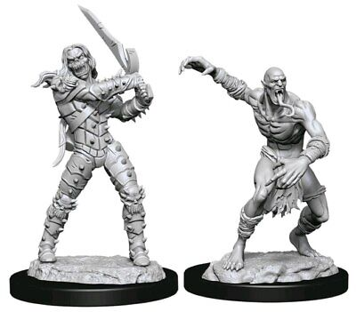 AU8.99 • Buy Dungeons & Dragons - Nolzur  S Marvelous Unpainted Minis: Wight & Ghast-WZK90...