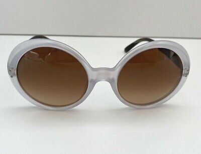 Oliver Goldsmith Oops Sunglasses Matte Crystal And Matte Black Ice 55mm-21mm • 265£